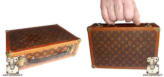 Louis Vuitton floral suitcase