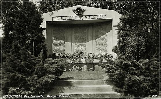 """Kriegerehrenmal 1938 -  """"Wer euch Helden ehrt, ehrt sich selbst"""""""