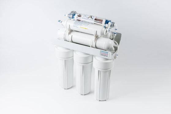 Aufbau der Filteranlage