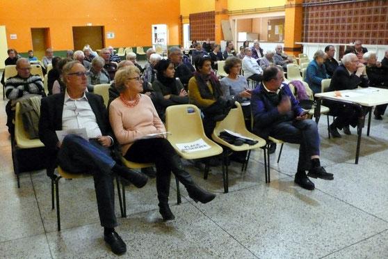 Le public en toute fin de soirée
