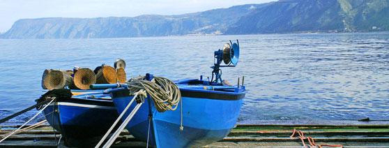 Tagesausflug oder Kalabrienrundreise, Scilla an der Costa Viola