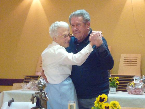 Nos chers Doyens Berthe et Jackie