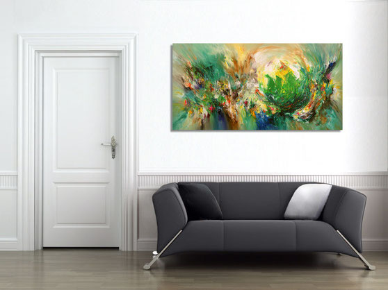 . . . get inspired by having one of our paintings hanging on your wall