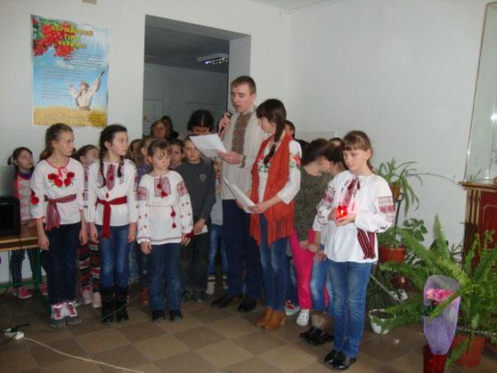 Вшанування Небесної Сотні в нашій школі