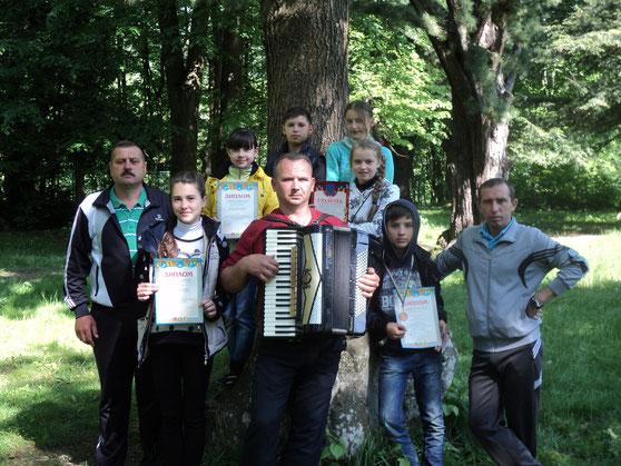 Команда школи Запитова