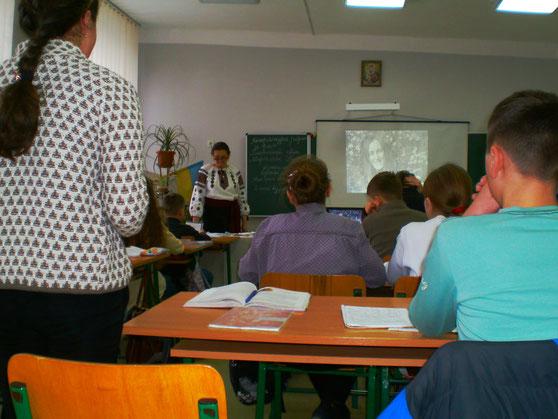Урок-реквієм провела вчитель української мови та літератури Галамага Г. І.