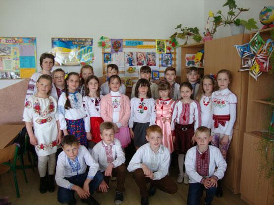День вишиванки - 4-А клас