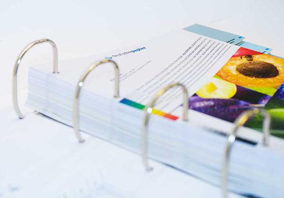 Digitaldrucksortiment in Ordnerform für PaperlinX Deutschland