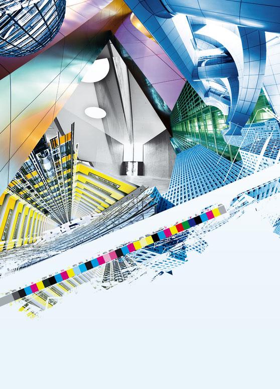KeyVisual für die Kartonmustermappe Trucard von Deutsche Papier