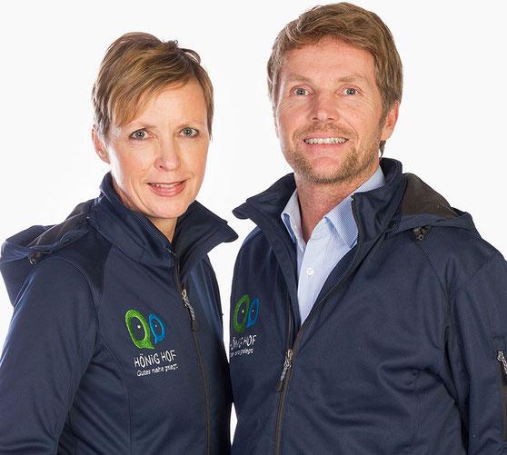 Geschäftsführer Marjan Renner und Christoph Hönig
