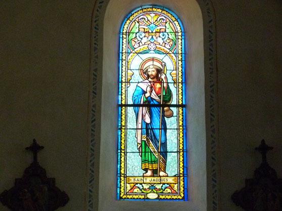 Kirchenfenster in Sainte-Radegonde,  St. Felix