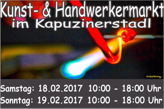 Kapuzinerstadl Deggendorf Kunst- und Handwerkermarkt, maannaxl ist dabei