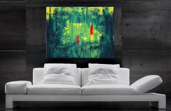 """Wandbild """"Proteus"""" 120 x 90 cm"""