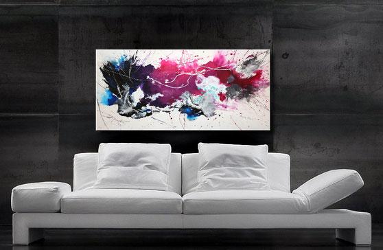 "Wandbild XXL ""Healing"" 120 x 60 cm"
