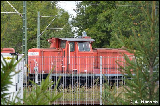 363 124-9 konnte am 28. September 2019 am AW Chemnitz gesichtet werden. Sie ist vermutlich für das Stillstandsmanagement vorgesehen