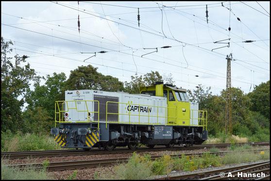 275 120-4 rollt am 2. September 2020 durch Leipzig-Wiederitzsch