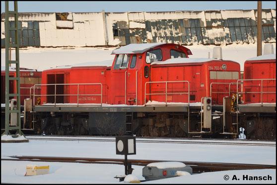 Am 15. Januar 2017 ist die Lok schließlich gemeinsam mit sechs Schwestermaschinen am AW Chemnitz abgestellt