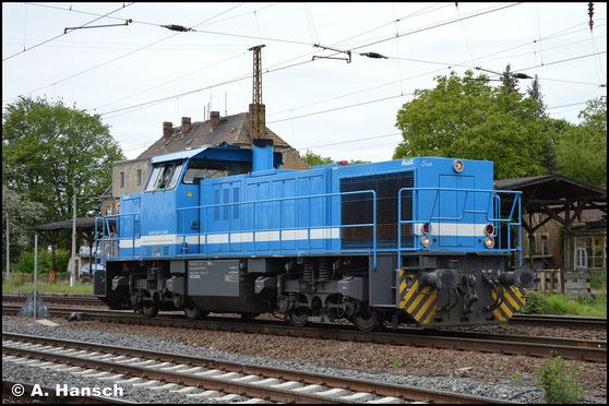 """275 843-1 alias """"Susi"""" konnte am 15. Mai 2019 in Leipzig-Wiederitzsch fotografiert werden"""