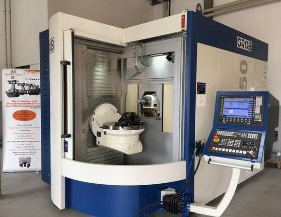 Maschine: GROB G350