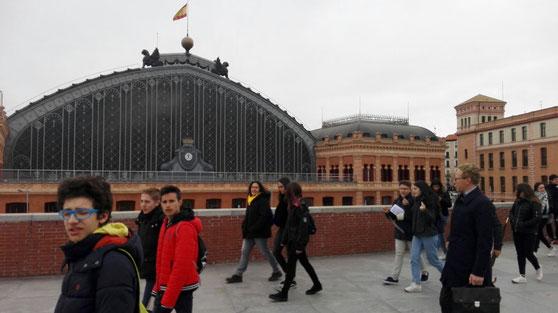 Visita a la Estación de Atocha