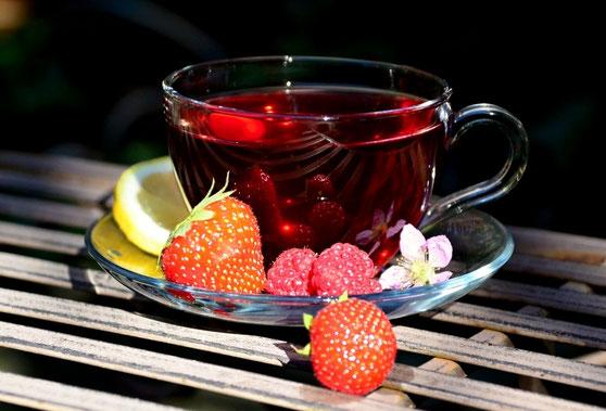 Früchtetee aromatisiert
