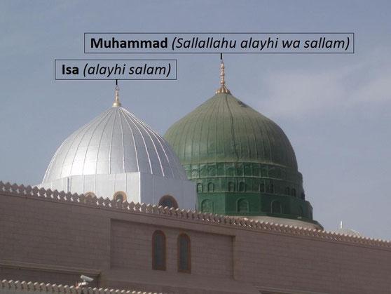 Isa (Jesus) Alayhi Salam - wird nach seinem tot hier begraben