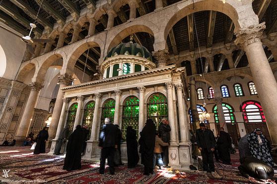 Yahya (Johannes) - Alayhi Salam [Syrien, Damaskus Umayyaden-Moschee] 6