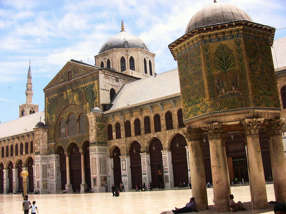 Yahya (Johannes) - Alayhi Salam [Syrien, Damaskus Umayyaden-Moschee] 2
