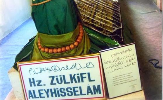 Zulkifl (Dhul-Kifl) - Alayhi Salam [Türkei, Diyarbekir] (altes Grabplatz vor dem umzug) 2