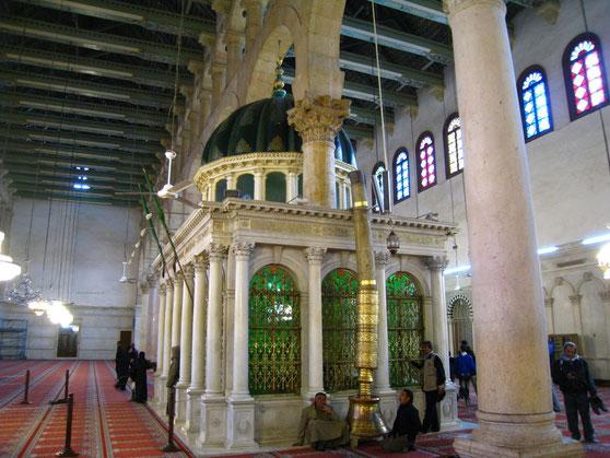 Yahya (Johannes) - Alayhi Salam [Syrien, Damaskus Umayyaden-Moschee] 7