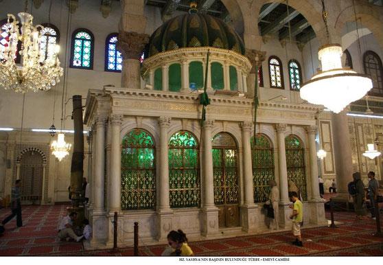 Yahya (Johannes) - Alayhi Salam [Syrien, Damaskus Umayyaden-Moschee] 5