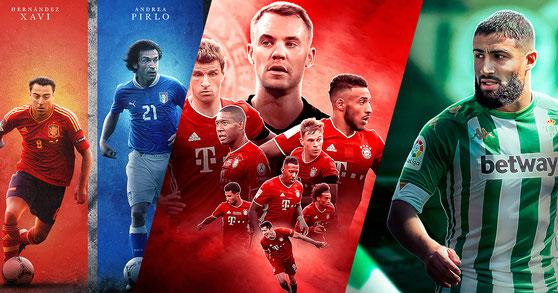 Football Legends Project 5 - Bayern Munich - Nabil Fekir - Football Design #12