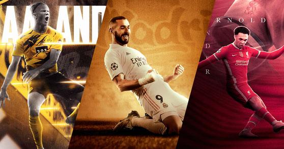 Erling Haaland - Karim Benzema - Alexander Arnold - Football Design #13