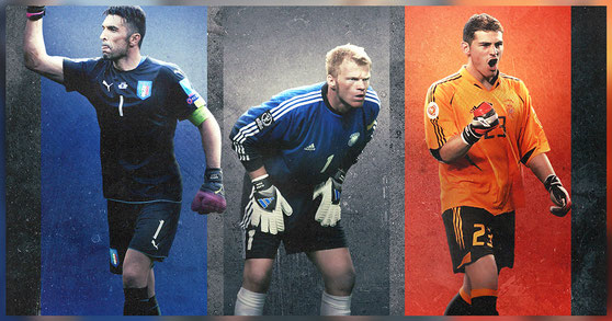 Gianluigi Buffon - Oliver Kahn - Iker Casillas - Football Design #6