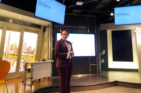 Tania Cosentino, President of Microsoft explain the importance of fostering innovation