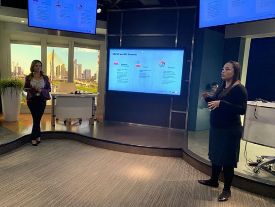 Michelle Correa shared her experience as an SAP employee,