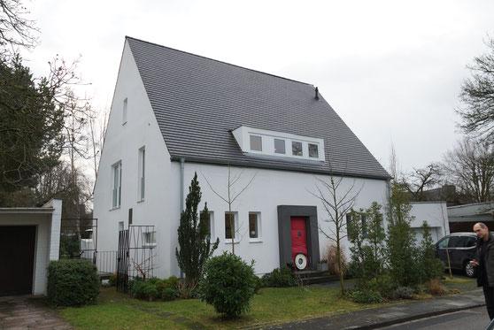 Einfamilienhaus Köln BlowerDoor Test