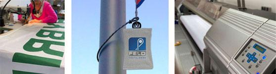 Kletterstop - Fahnengewicht für Fahnen Werbefahnen von Feld Textil GmbH in Krefeld