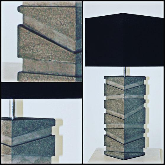 """Lampe """"Concrete"""" - Béton - Hauteurs : 50 cm - 65 cm - 80 cm"""