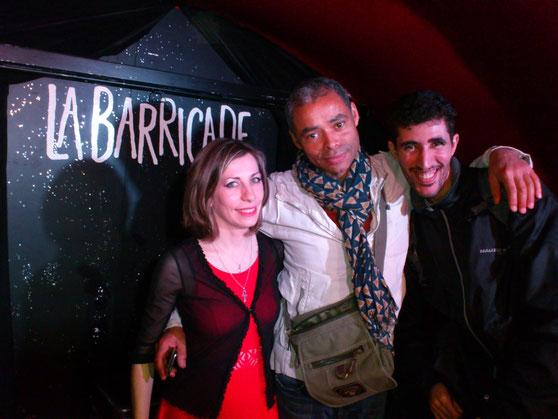 En compagnie du Chanteur Pièrco et Medhi un ami