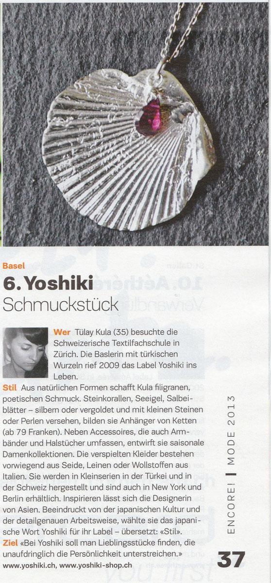 17.03.2013 Yoshiki @ Encore! Sonntagszeitung