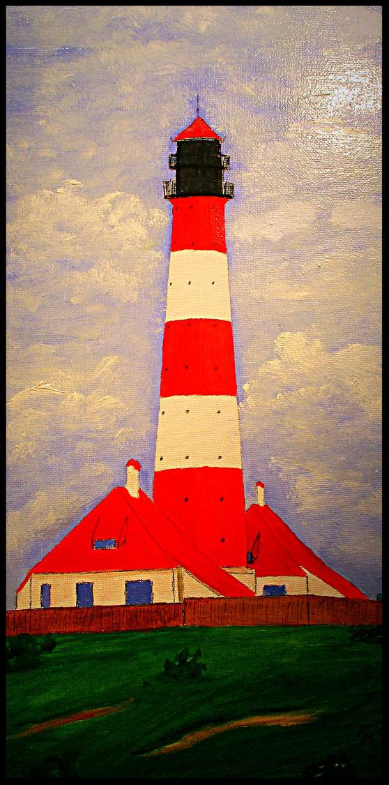Leuchtturm Westerhever II