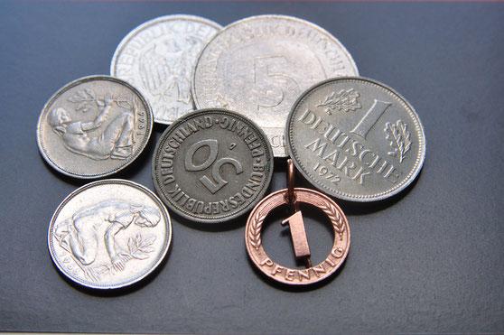 Münzsagewerk Katrin Thull | Deutschland - 1 Pfennig