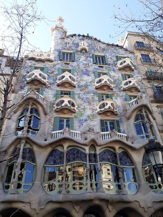 Дом Бальо в Барселоне - лучшие места для Инстаграма