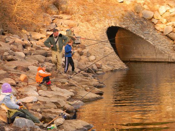 Ouverture  avec l'atelier pêche  et nature 2012