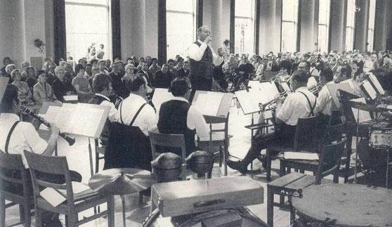 Blaskapelle Bad Wiessee mit Willi Liebe