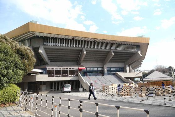 日本武道館。東京ドームの写真は撮り忘れました。