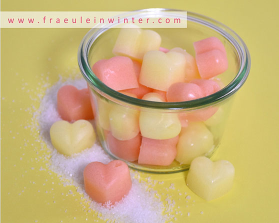 Sugar Scrub Cubes | Handmade by Fräulein Winter