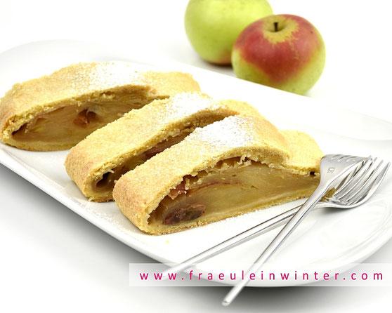 Mürber Apfelstrudel | Fräulein Winter