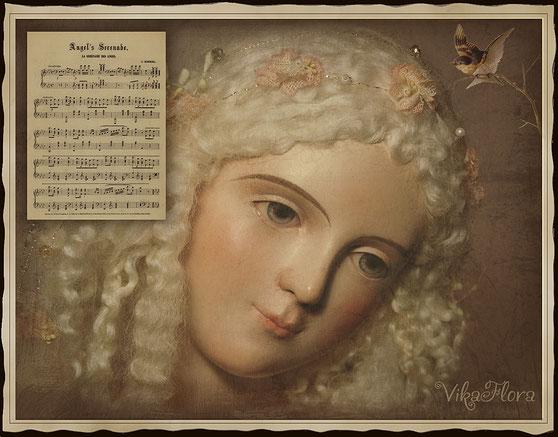 мирабель, авторская кукла, коллекционная кукла, куклы миненко виктории